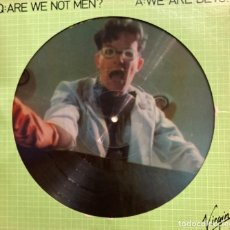 Discos de vinilo: Q:ARE WE NOT MEN? A: WE ARE DEVO VIRGIN DISCO LP 1078. Lote 210561898