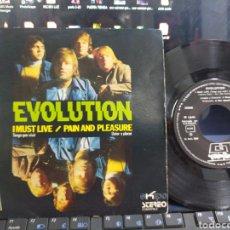 Discos de vinilo: EVOLUTION SINGLE I MUST LIVE 1972. Lote 210562998