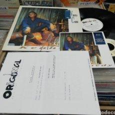 Discos de vinilo: MIKE KENNEDY LP DE NUEVO EN CASA + SINGLE + 3 HOJAS PROMO 1991. Lote 210564303