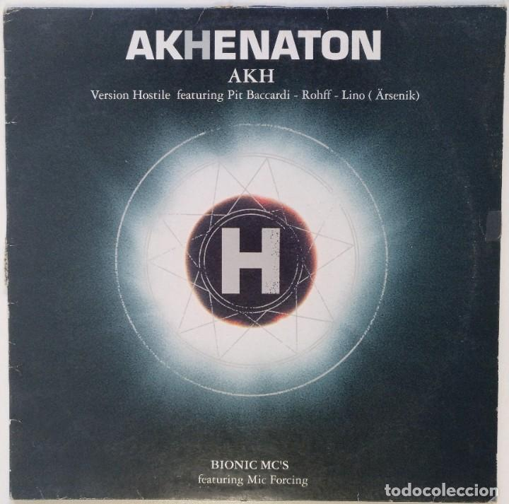 "AKHENATON - AKH H (IAM) [FRANCIA HIP HOP / RAP] [EDICIÓN EXCLUSIVA ORIGINAL MX 12"" 33RPM] [2001] (Música - Discos de Vinilo - Maxi Singles - Rap / Hip Hop)"