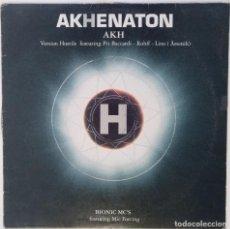 "Discos de vinilo: AKHENATON - AKH H (IAM) [FRANCIA HIP HOP / RAP] [EDICIÓN EXCLUSIVA ORIGINAL MX 12"" 33RPM] [2001]. Lote 210564667"