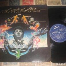 Discos de vinilo: THE STEVE MILLER BAND CIRCLE OF LOVE ENCARTE ( 1981 MERCURY) OG EDICION LEA DESCRIPCION. Lote 210564802