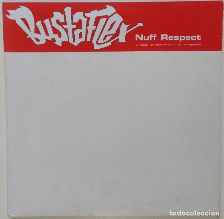 "BUSTA FLEX - NUFF RESPECT [FRANCIA HIP HOP / RAP] [EDICIÓN EXCLUSIVA ORIGINAL MX 12"" 33RPM] [2002 (Música - Discos de Vinilo - Maxi Singles - Rap / Hip Hop)"