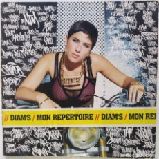 """Discos de vinilo: DIAM'S - MON REPERTOIRE [FRANCIA HIP HOP / RAP] [EDICIÓN EXCLUSIVA ORIGINAL MX 12"""" 33RPM] [2003]. Lote 210564963"""