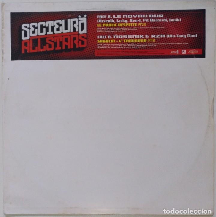 """SECTEUR Ä - ÄRSENIK FT. RZA (WU TANG) [FRANCIA HIP HOP / RAP] [EDICIÓN ORIGINAL MX 12"""" 33RPM] [2000] (Música - Discos de Vinilo - Maxi Singles - Rap / Hip Hop)"""