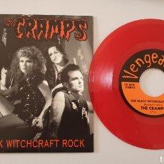 Discos de vinilo: SINGLE THE CRAMPS - BIG BLACK WITCHCRAFT ROCK/+1 (VENGEANCE, 2003) RARO YA DE VER!. Lote 210569245