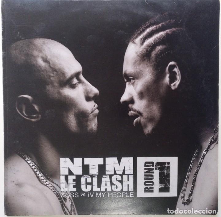 """NTM - LE CLASH ROUND 1 [FRANCIA HIP HOP / RAP] [EDICIÓN EXCLUSIVA ORIGINAL EP12"""" 33RPM] [2000] (Música - Discos de Vinilo - EPs - Rap / Hip Hop)"""