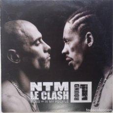 """Discos de vinilo: NTM - LE CLASH ROUND 1 [FRANCIA HIP HOP / RAP] [EDICIÓN EXCLUSIVA ORIGINAL EP12"""" 33RPM] [2000]. Lote 210569275"""