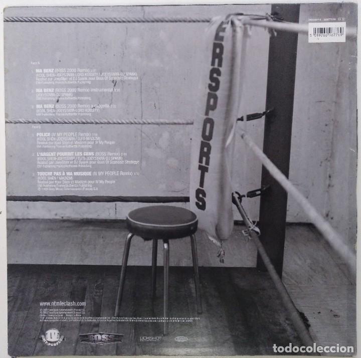 """Discos de vinilo: NTM - LE CLASH ROUND 1 [FRANCIA HIP HOP / RAP] [EDICIÓN EXCLUSIVA ORIGINAL EP12"""" 33RPM] [2000] - Foto 2 - 210569275"""