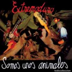 Discos de vinilo: LP EXTREMODURO SOMOS UNOS ANIMALES VINILO+CD. Lote 210570101