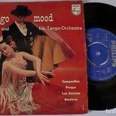 """Discos de vinilo: MALANDO Y SU ORQUESTA 7"""" HOLANDA EP 45 TANGO MOOD + 3 SINGLE VINILO 1955 IMPORTACIÓN MUY BUEN ESTADO. Lote 210573326"""