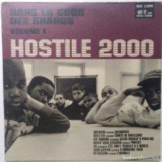 """Discos de vinilo: HOSTILE 2000 VOL.1 - DANS LA COUR DES [FRANCIA HIP HOP / RAP] [EDICIÓN ORIGINAL EP 12"""" 33RPM] [1999]. Lote 210574668"""