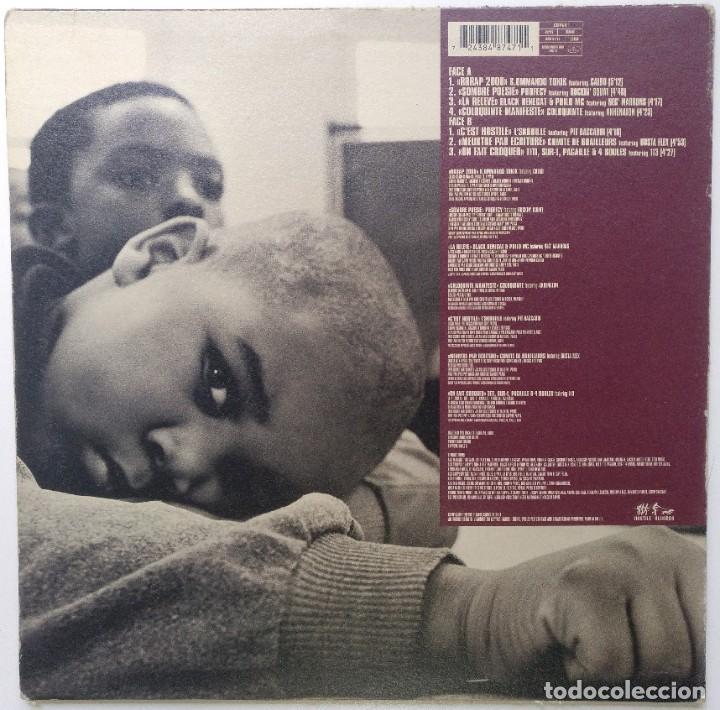 "Discos de vinilo: HOSTILE 2000 Vol.1 - DANS LA COUR DES [FRANCIA HIP HOP / RAP] [EDICIÓN ORIGINAL EP 12"" 33RPM] [1999] - Foto 2 - 210574668"