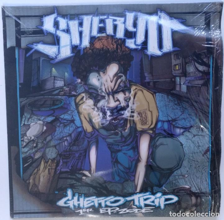 """SHERYO - GHETTO TRIP 1ER EP ZODE [FRANCIA HIP HOP / RAP] [EDICIÓN ORIGINAL EP 12"""" 33RPM] [2001] (Música - Discos de Vinilo - EPs - Rap / Hip Hop)"""