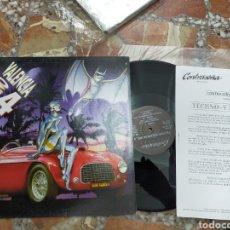 Discos de vinilo: TECHNO VALENCIA 4 MAXI PROMOCIONAL CON HOJA PROMO 1993. Lote 210575422