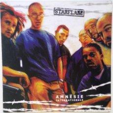 "Discos de vinilo: STARFLAM - AMNÉSIE INTERNATIONAL [BELGICA HIP HOP / RAP] [EDICIÓN ORIGINAL MX 12"" 33RPM] [2001]. Lote 210575606"