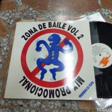 Discos de vinilo: ZONA DE BAILE VOL.2 MAXI MIX PROMOCIONAL 1992. Lote 210576481
