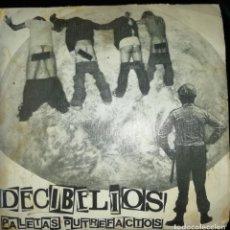 Discos de vinilo: DECIBELIOS PALETAS PUTREFACTOS. Lote 210578265