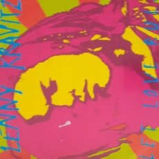 Discos de vinilo: LENNY KRAVITZ LET LOVE RULE. Lote 210579588
