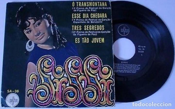 "SISSI 7"" SPAIN EP 45 O TRANSMONTANA + 3 SINGLE VINILO 1969 FESTIVAL CANCION FIGUEIRA DA FOZ RARO VER (Música - Discos de Vinilo - EPs - Otros Festivales de la Canción)"
