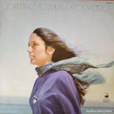 Discos de vinilo: JOAN BAEZ- GRANDES EXITOS - LP. Lote 210583185