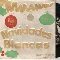 """Discos de vinilo: TOMMY DORSEY 7"""" SPAIN EP 45 NAVIDADES BLANCAS + 3 SINGLE VINILO 1950S IRVING BERLIN BSO BELTER 45016. Lote 210584116"""