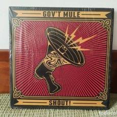 Discos de vinilo: GOV' T MULE-SHOUT! 2013 4LP. Lote 210586123