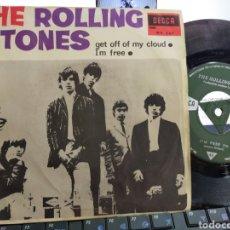 Discos de vinilo: THE ROLLING STONES SINGLE GET OFF OF MY CLOUD ESPAÑA 1965. Lote 210587118