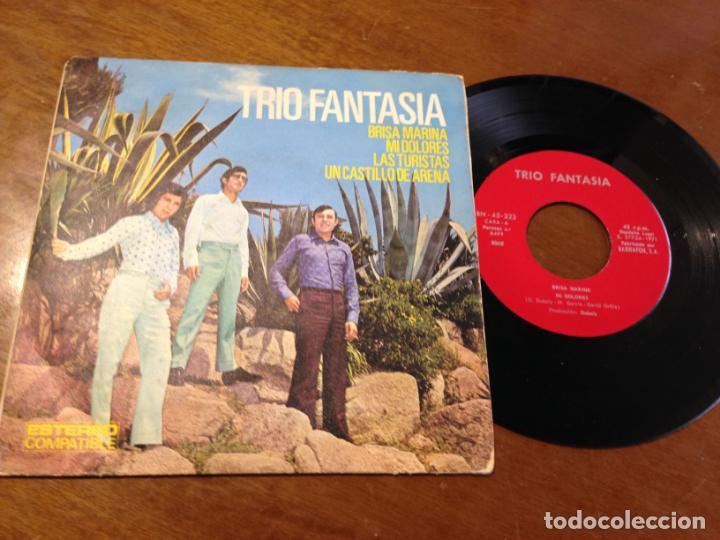 TRIO FANTASIA : BRISA MARINA + 3 - EP- 1971 ANA DISCOS-RARO!! (Música - Discos de Vinilo - EPs - Grupos Españoles de los 70 y 80)