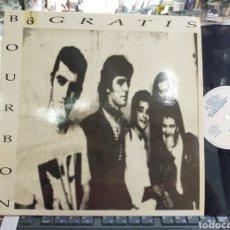 Discos de vinilo: BOURBON GRATIS LP CONCURSO POP ROCK 1991. Lote 210594868