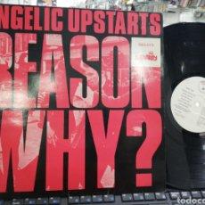 Discos de vinilo: ANGÉLIC UPSTARTS LP REASON WHY? ESPAÑA 1986. Lote 210599228
