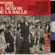 """Discos de vinilo: GREGORIO GARCIA GREG SEGURA 7"""" SPAIN EP 45 EL SEÑOR DE LA SALLE SINGLE VINILO 1964 BANDA SONORA MIRA. Lote 210599967"""