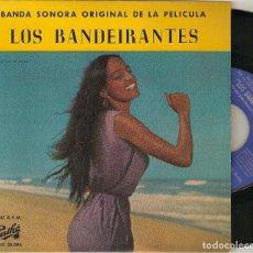 "Discos de vinilo: JOSE TOLEDO JEAN MANZON 7"" SPAIN EP 45 LOS OS BANDEIRANTES SINGLE VINILO 1961 BANDA SONORA SAMBA. Lote 210601056"