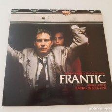 Discos de vinilo: FRENÉTICO BSO LP / ENNIO MORRICONE. Lote 210605502