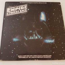 Discos de vinilo: THE EMPIRE STRIKES BACK LP. Lote 210605778