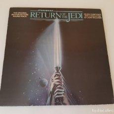 Discos de vinilo: RETURN THE JEDI BSO LP. Lote 210606013