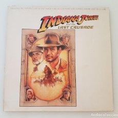 Discos de vinilo: INDIANA JONES AND THE LAST CRUSADE - LP. Lote 210608721