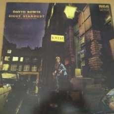 Dischi in vinile: DAVID BOWIE ZIGGY STARDUST AND THE SPIDERS FROM MARS LP VINILO BLANCO. Lote 210612548