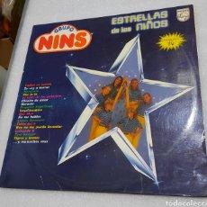 Discos de vinilo: GRUPO NINS - ESTRELLAS DE LOS NIÑOS. Lote 210612936