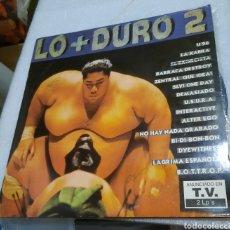 Dischi in vinile: LO + DURO 2. RECOPILATORIO. 2 LP. Lote 210613030