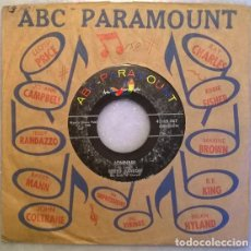 Discos de vinilo: CREED TAYLOR. JOHNNY/ DIANE. ABC-PARAMOUNT, USA 1960 SINGLE. Lote 210613935