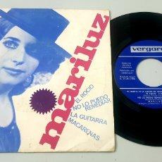 Discos de vinilo: EP MARILUZ - EL ROCIO/+3 (VERGARA, 1966). Lote 210616525