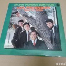 Discos de vinilo: LOS PEKENIKES (LP) LOS PEKENIKES – HILO DE SEDA AÑO – 1966-1978 – LABEL BLANCA. Lote 210616605