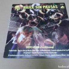 Discos de vinilo: PEPE GALAN Y LOS RITMICOS (LP) BAILE SIN PAUSAS VOL. 2 AÑO – 1979. Lote 210616923