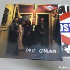 Discos de vinilo: ORQUESTA MIRASOL (LP) SALSA CATALANA AÑO – 1974 – INCLUYE POSTER DESPLEGABLE. Lote 210617128
