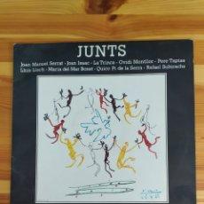 Discos de vinilo: VINIL JUNTS - JOAN MANUEL SERRAT, JOAN ISAAC, LA TRINCA, OVIDI MONTLLOR, PERE TAPIAS, LLUIS LLACH.... Lote 210618511