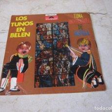 Discos de vinilo: TUNA UNIVERSITARIA DE CASTILLA - LOS TUNOS EN BELEN - POLYDOR 1965. Lote 210622211