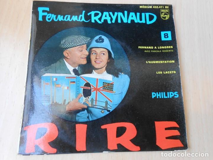 FERNAND RAYNAUD, EP, FERNAND A LONDRES + 2, AÑO 19?? MADE IN FRANCE (Música - Discos de Vinilo - EPs - Canción Francesa e Italiana)
