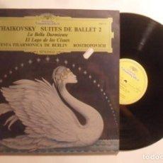 Dischi in vinile: LP - TCHAIKOVSKY - SUITES DE BALLET 2 - DEUTSCHE GRAMMOPHON - 1980. Lote 210633792