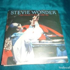 Discos de vinilo: STEVIE WONDER. I JUST CALLED TO SAY I LOVE YOU. MOTOWN, 1984.. Lote 210635821